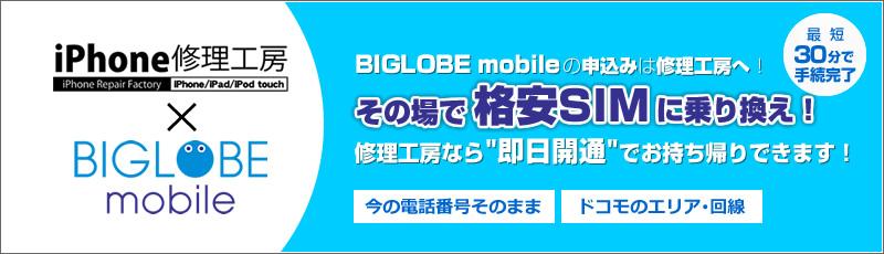 BIGLOBEの格安SIM/格安スマホ