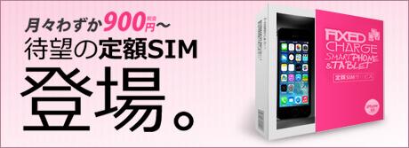 定額SIMパッケージ