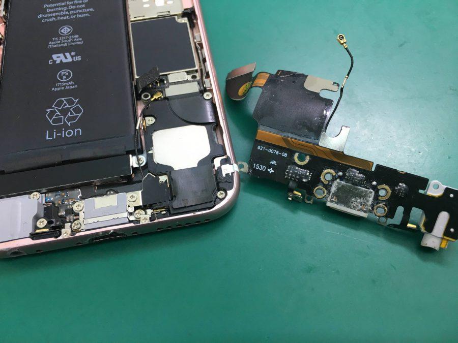 iPhone6s 水濡れ&充電不良