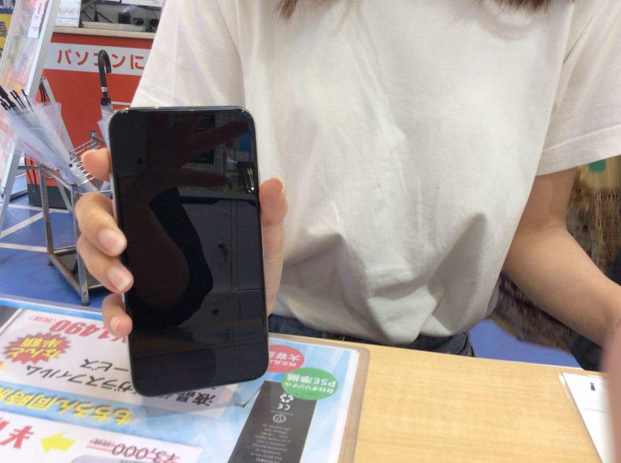 秋葉原店【M.F様】中央区からご来店 iPhoneⅩ 画面割れ修理