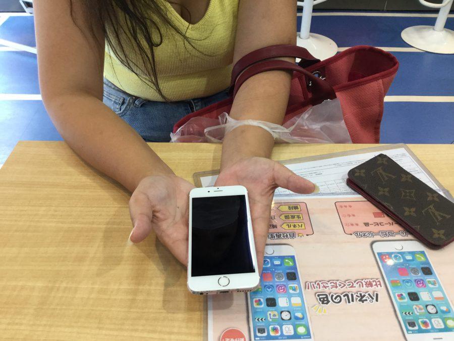 秋葉原店【S.M様】浦安市からご来店 iPhone6S 画面割れ修理