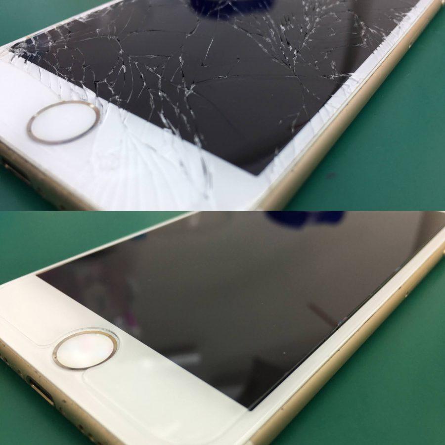 iPhone7 ガラス割れ・液晶交換
