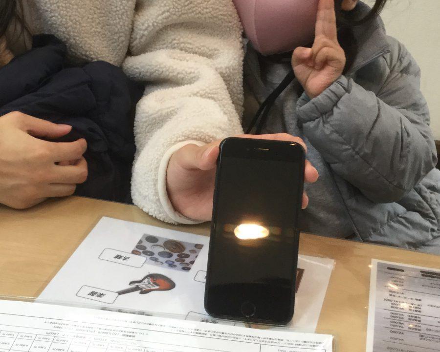 葛西店【R.K様】千葉県浦安市からご来店 iphone7画面割れ修理