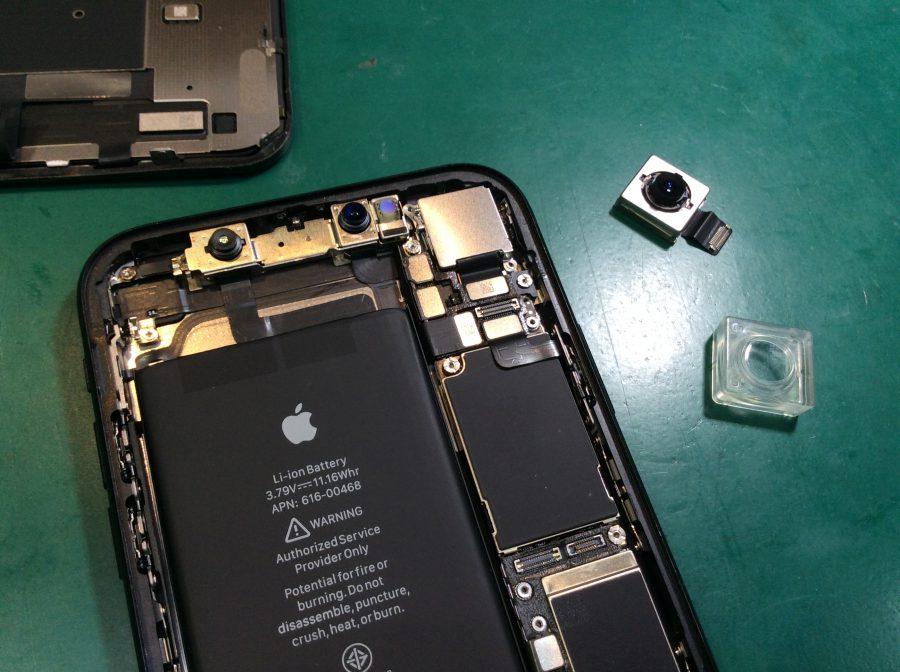 iPhoneXR カメラ交換