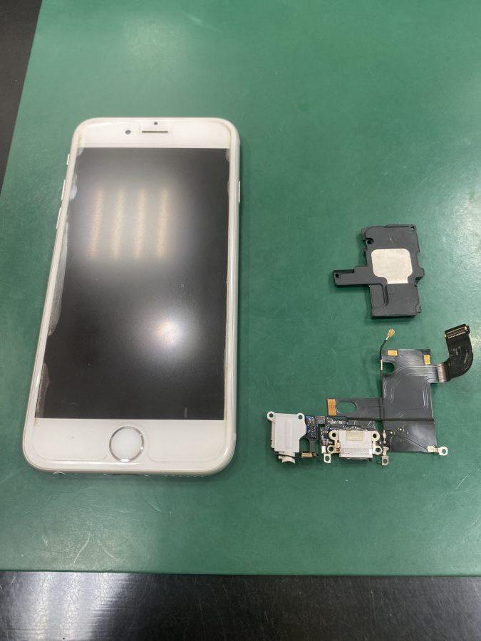 iPhone6 ドックコネクタ、ラウドスピーカー交換(M・H様)